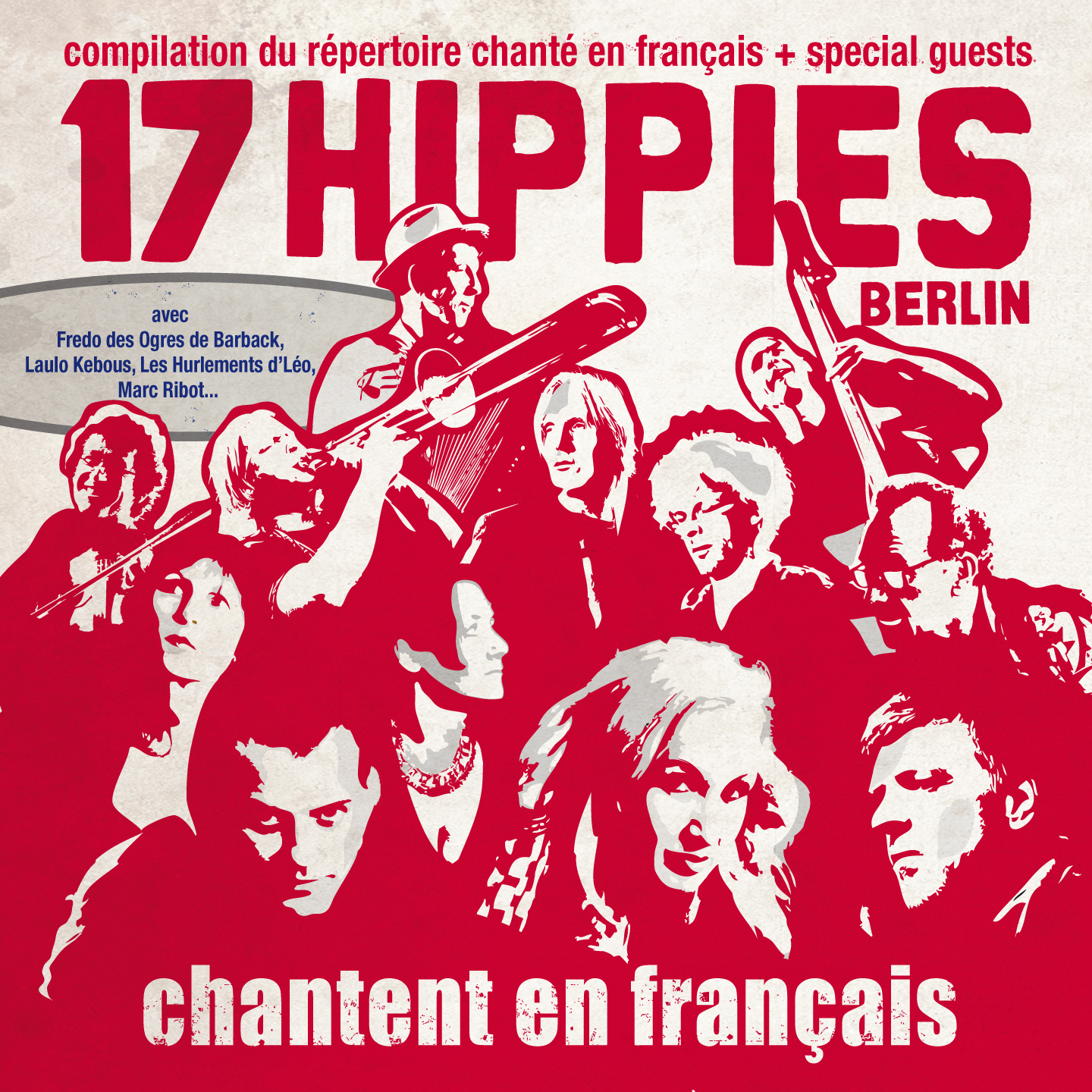 17 Hippies chantent en français – CD