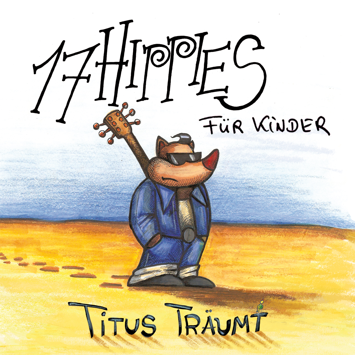 17 HIPPIES für Kinder – CD