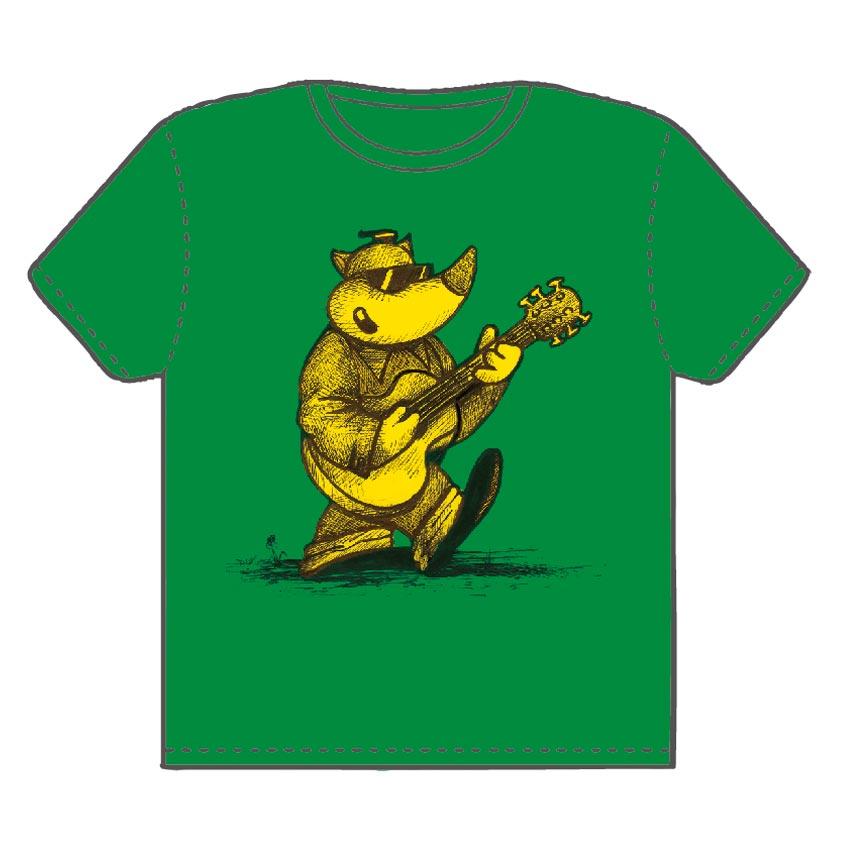 Titus-Shirt vorne grün