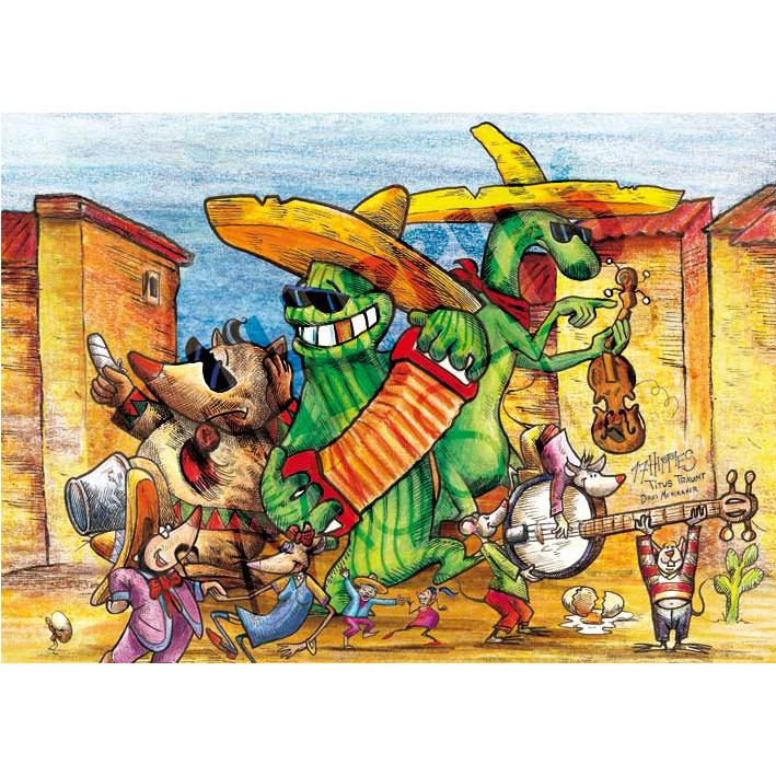 3 Mexikaner