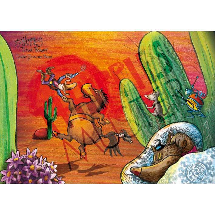 Cowboy Jim & sein Pferd