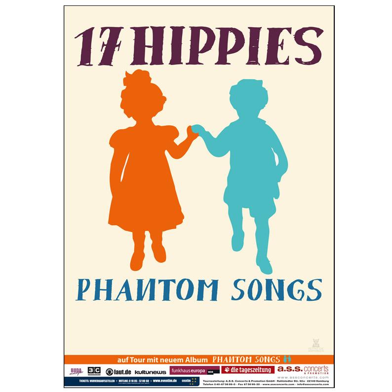 Phantom Song-Tour Plakat orange