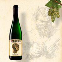 Hippie Wein Quadrat